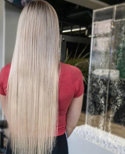 Reilusti lisäpituutta 60 cm hiustenpidennyksillä
