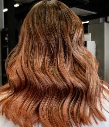 Balayage-hiustenvärjäystekniikka