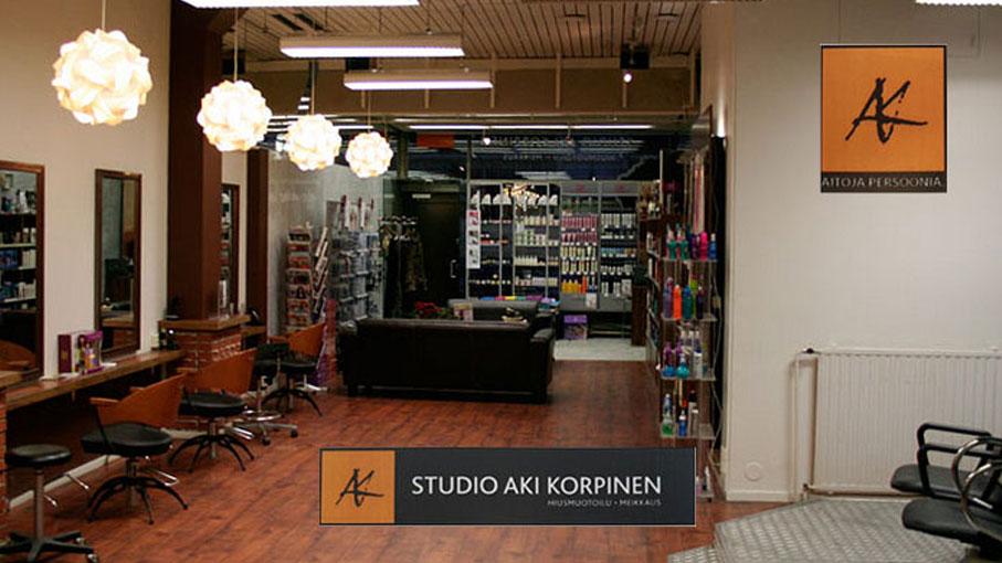 Studio AK:n vanha liike Hannikaisenkadulla