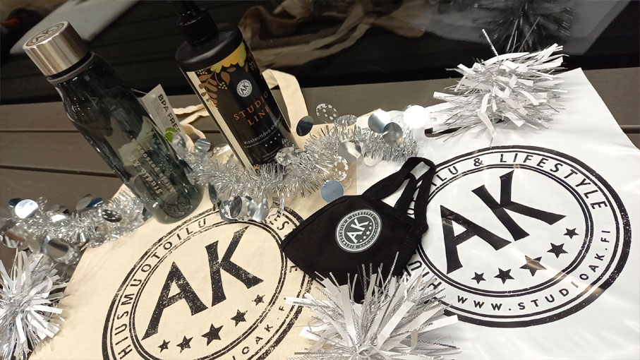Studio AK:n tuotteet