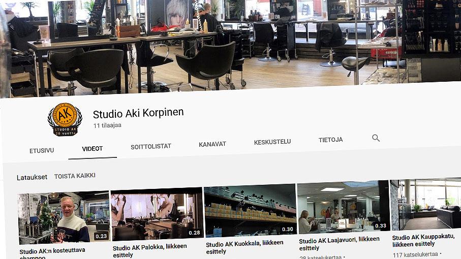 Studio AK:n YouTube-kanava