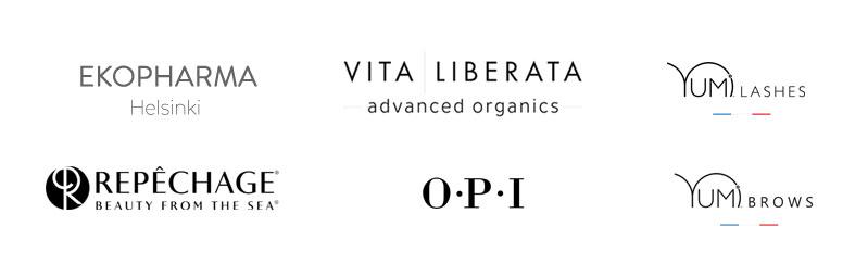Meiltä Studio AK:lta löytyy mm. Ekopharman, Vita Liberatan, Repechagen, OPI:n ja Yumin tuotteita