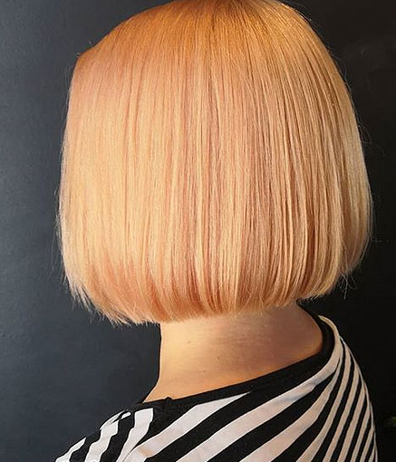 Uusi hiusmalli ja väri