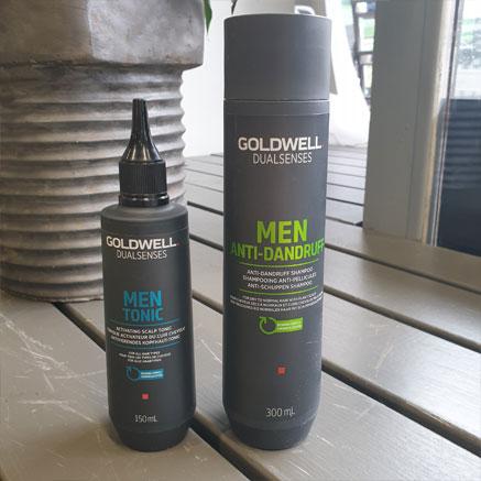 Goldwellilta löytyy oma Men-sarja miehille