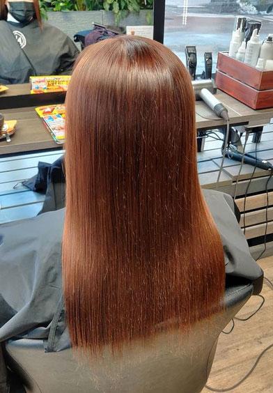 Ennen hiustenpidennyksiä.