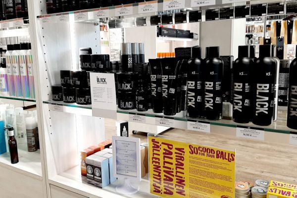 IdHairin Black-tuotteet miehille