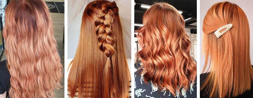 Yksi kevättrendeistä on kupariset hiukset