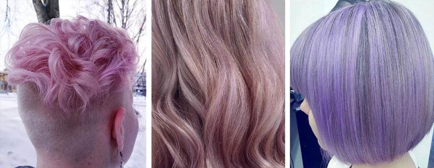 Pastellisävyiset hiukset ovat keväällä suosittuja