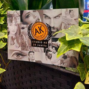 Studio AK:n lahjakortti