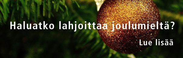 Lahjoita Joulumieltä