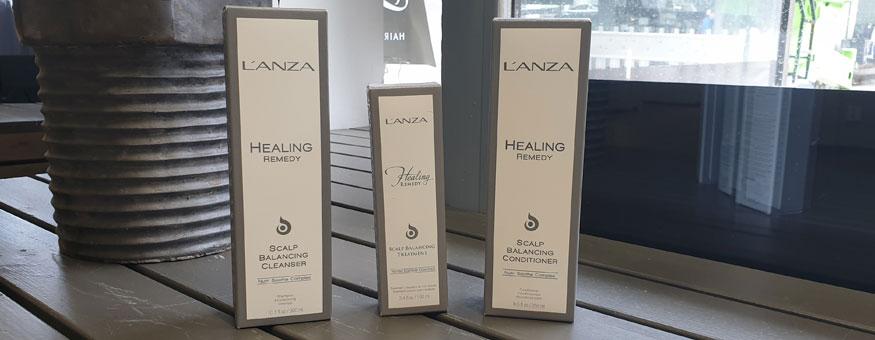 L'anzan Healing Remedy -sarja sopii esimerkiksi hiuspohjan ongelmista kärsiville