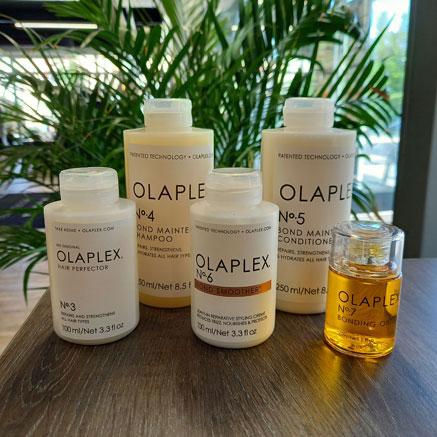 Olaplex No 3, 4, 5, 6 ja 7 saatavilla Studio AK:lta