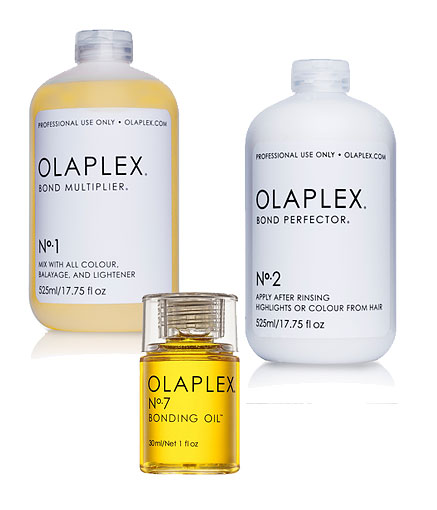 Olaplexin tuotteita Studio AK:n liikkeistä