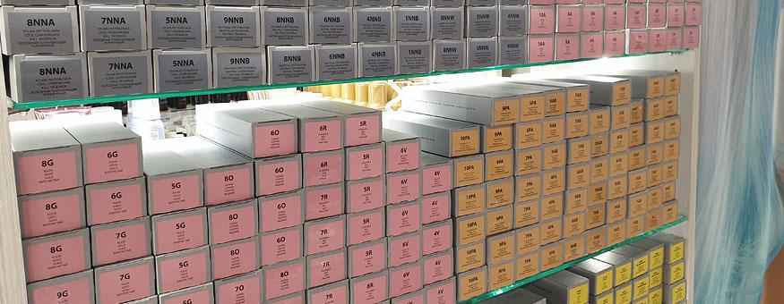 Väriaineet, hapetteet sekä muut tekniset tuotteet pikatukusta