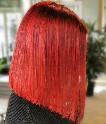 Hehkuva punainen
