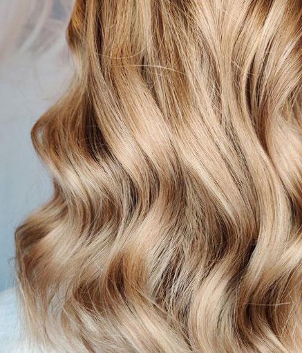 Hiusten raidoitus/moniväri