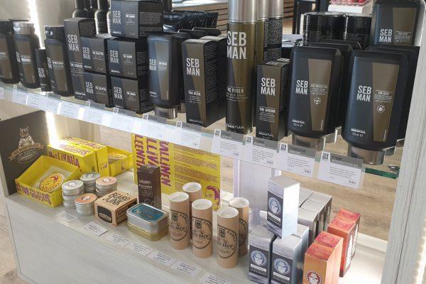 Seb Man -hiustuotteet sekä mm. Partawan partatuotteet ja suositut Pallivahat