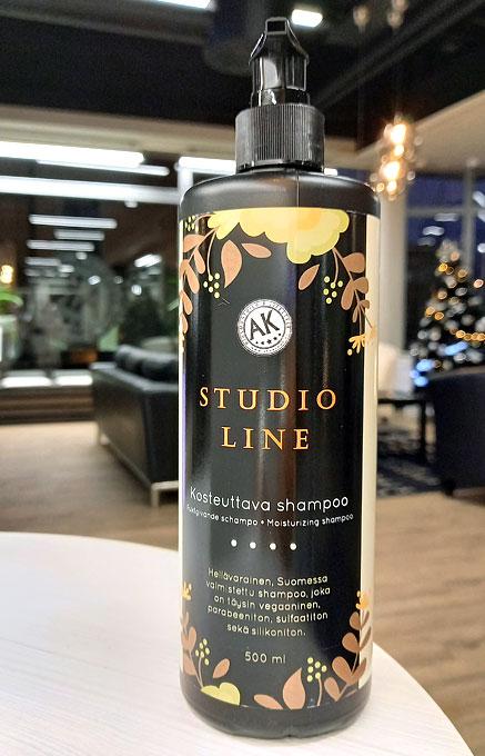 Studio Line -shampoo kosteuttaa
