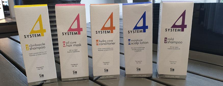 System4 tuotteita saatavana meiltä!