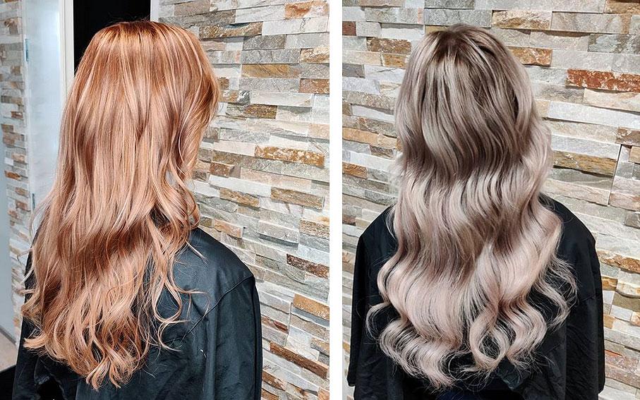 Vaaleat hiukset ovat suosittuja erityisesti kesän tullessa
